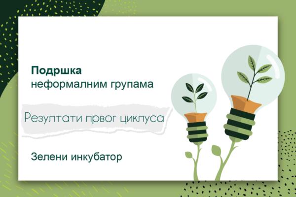"""Зелени инкубатор: ботаничка башта, биомаса, """"бинацикл"""" и зелено буђење"""