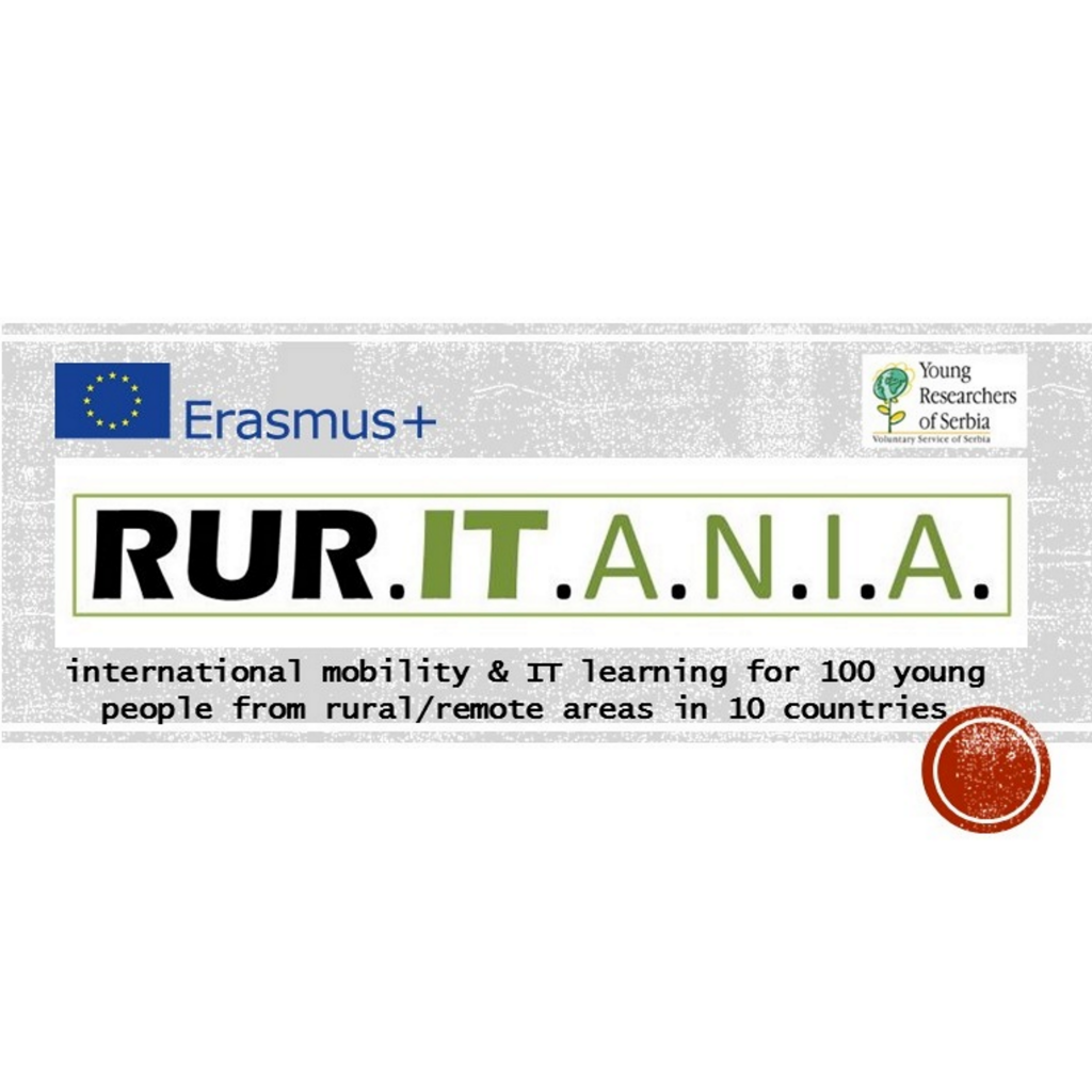 Rur.IT.A.N.I.A.- Fostering international mobility and IT competence of young people from rural areas