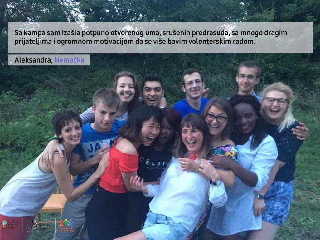 Prezentacije volonterskih kampova u Beogradu, Kragujevcu i Pančevu
