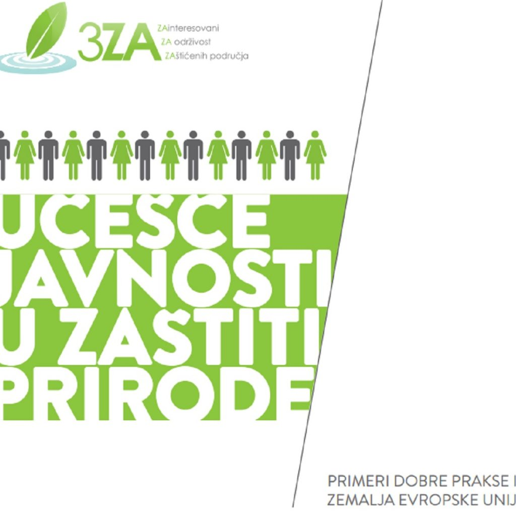 Učešće javnosti u zaštiti prirode – primeri dobre prakse iz zemalja EU