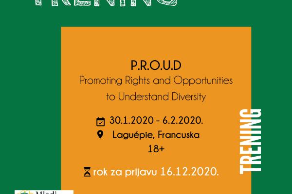 POZIV – Međunarodni trening u Francuskoj