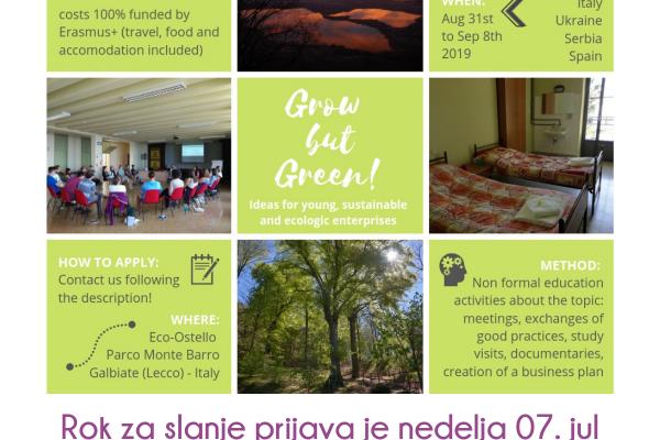 ПОЗИВ – Омладинска размена у Италији