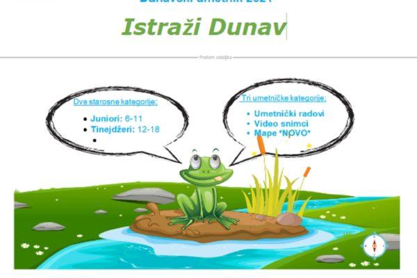NAGRADNI KONKURS – Dunavski umetnik 2021.