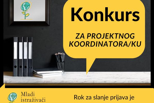Konkurs za poziciju projektnog koordinatora