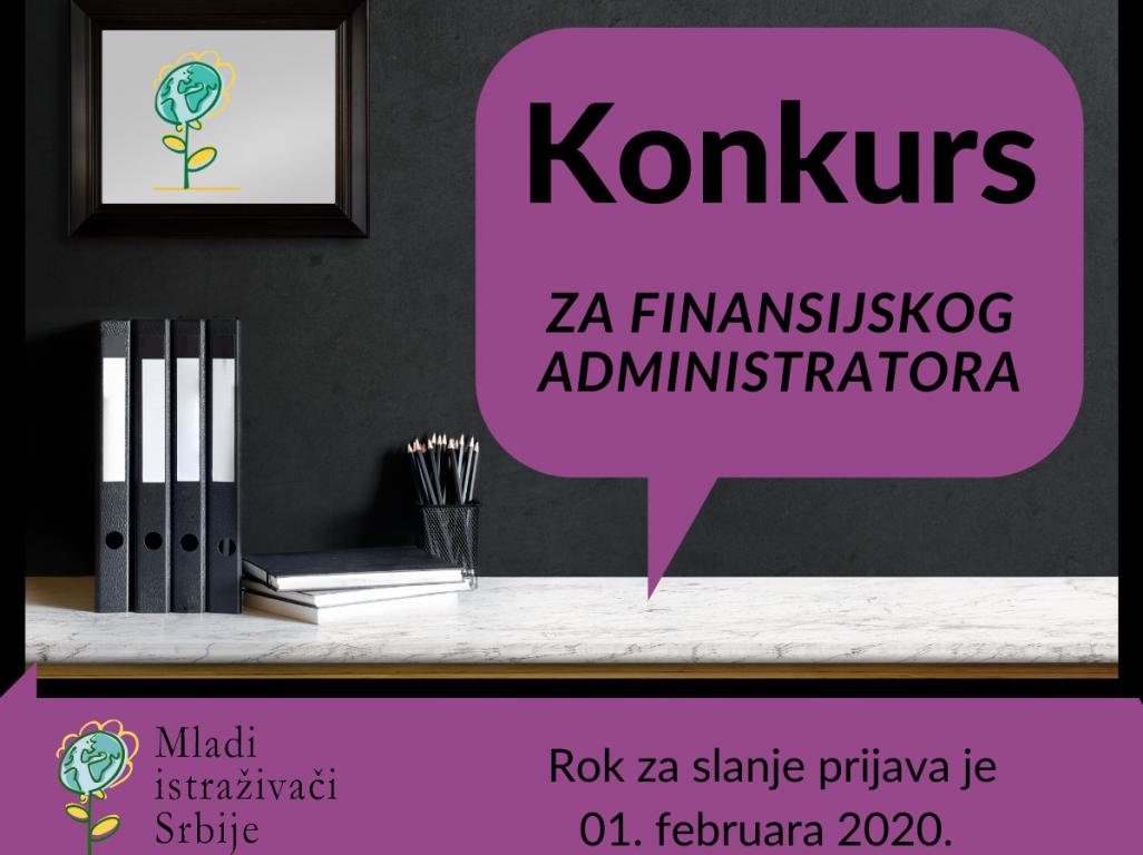 Konkurs za poziciju finansijskog administratora