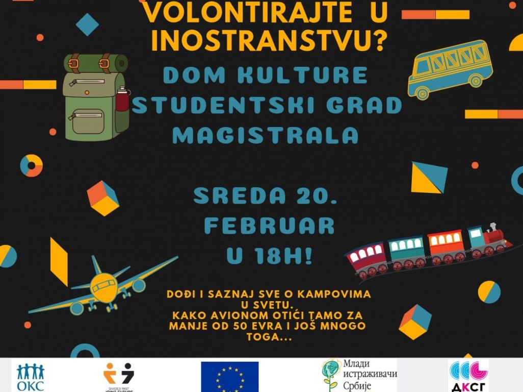 Poziv na prezentaciju: Volonterski kampovi – primer zajedništva
