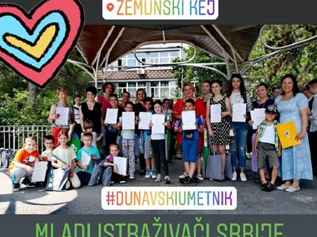 Dunavski umetnici na Centralnoj proslavi Dana Dunava u Srbiji