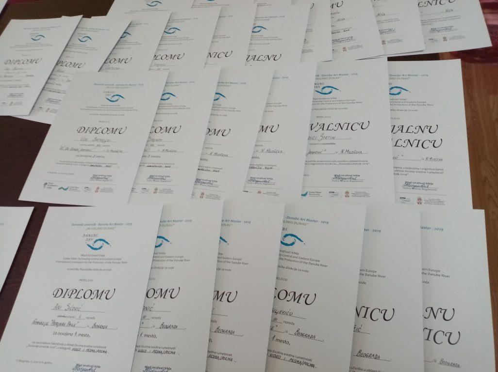"""Победници """"Дунавског уметника 2019"""" у Србији"""