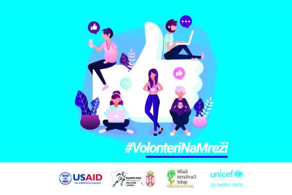 Volonteri na mreži – Vršnjačka posdrška
