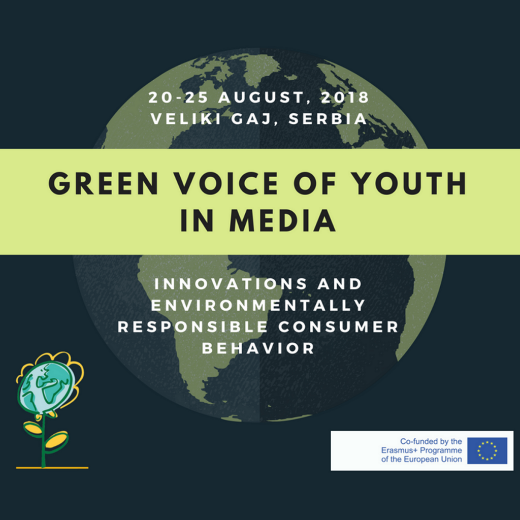 GREEN VOICE OF YOUTH IN MEDIA: innovations and environmentally responsible consumer behavior