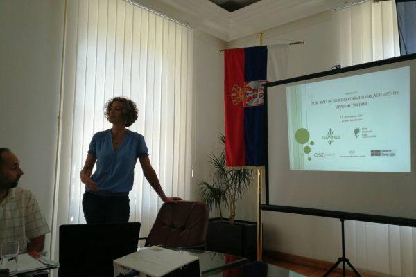 Наставак рада на уродњавању политика животне средине