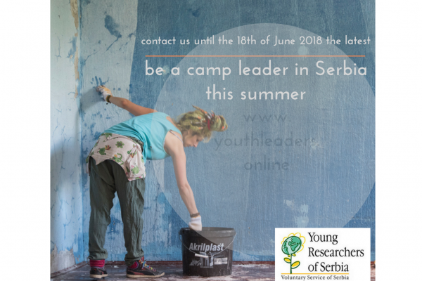 Want to volunteer as a workcamp leader in Serbia this summer?