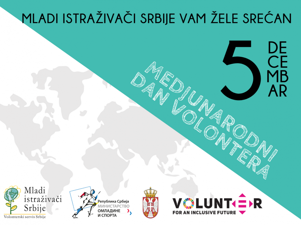 Srećan nam Međunarodni dan volontera