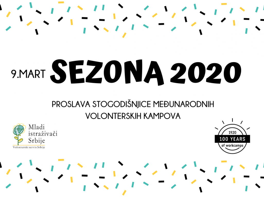 Volonterska sezona 2020 počinje 9. marta